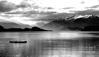 Photograph - Evening At Wanaka by Nareeta Martin