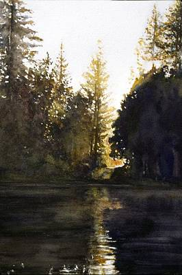 Painting - Evening by Barbara Pease