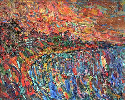 Evening Beach Original by Nikolay Malafeev