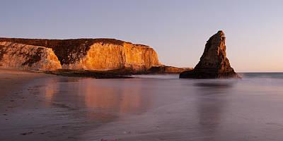 Davenport Beach Photograph - Evening Beach Tranquillity  by Catherine Lau