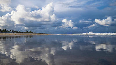 Photograph - Evening Beach Walk 2 Delray Beach Florida by Lawrence S Richardson Jr