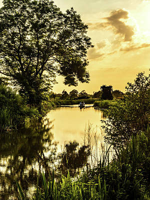 Photograph - Evening Calm by Nick Bywater