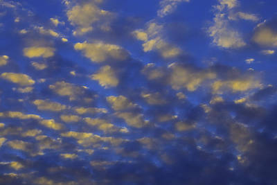 Evening Clouds Art Print by Garry Gay