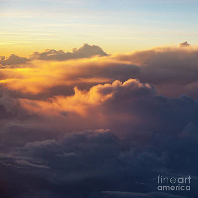 Photograph - Evening Clouds I by Brian Jannsen
