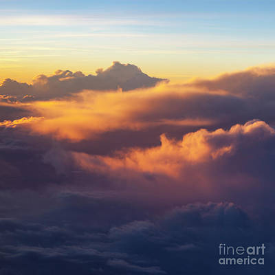 Photograph - Evening Clouds II by Brian Jannsen