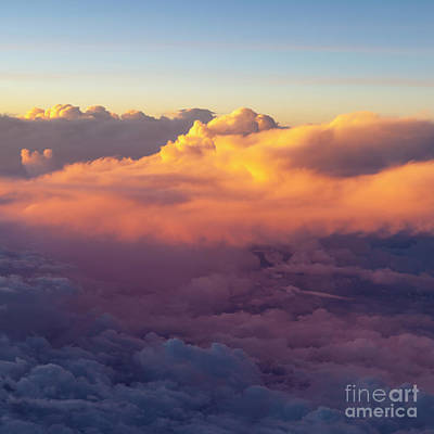Photograph - Evening Clouds Iv by Brian Jannsen