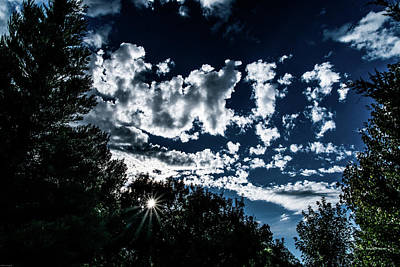Photograph - Evening Clouds Marching by Mick Anderson