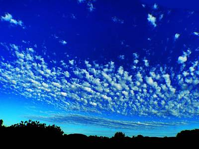 Photograph - Evening Clouds by Mark Blauhoefer
