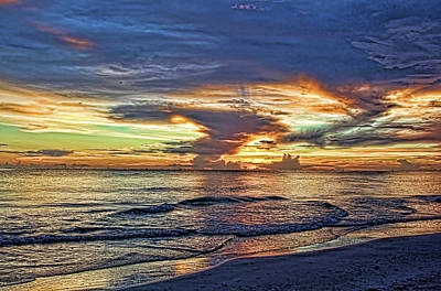 Photograph - Evening Colors by HH Photography of Florida