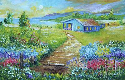 Painting - Evening Country Side by Alicia Maury
