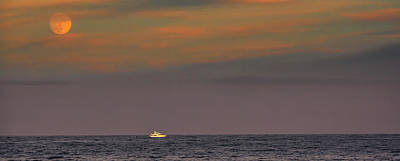 Photograph - Evening Cruise by David Kay