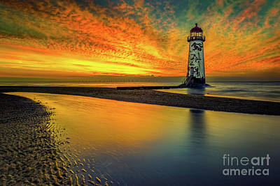 Talacre Photograph - Evening Delight by Adrian Evans