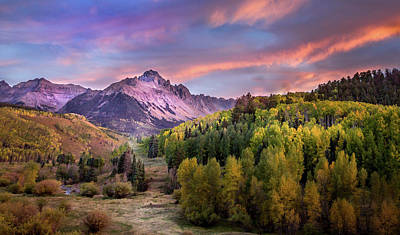 Photograph - Evening Drama In The San Juan Mountains by James Woody