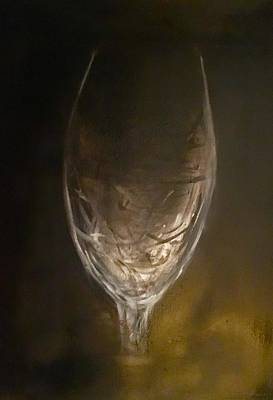 Painting - Empty Glass by Chuck Gebhardt