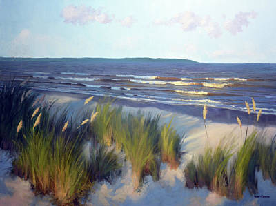 Painting - Evening East Beach by Armand Cabrera