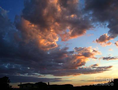 Editoria Photograph - Evening Flames D by Ciro Pignalosa