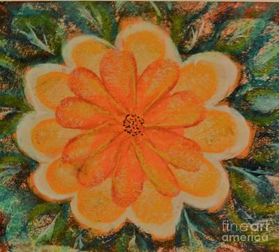 Annette Kinship Wall Art - Pastel - Evening Fleur by Annette Kinship
