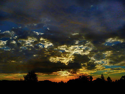 Photograph - Evening Glow by Mark Blauhoefer