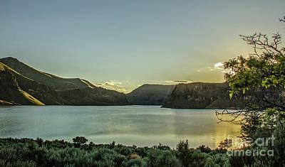 Photograph - Evening Glow by Robert Bales