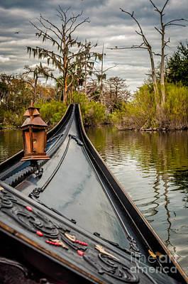 Photograph - Evening Gondola Ride- Nola by Kathleen K Parker