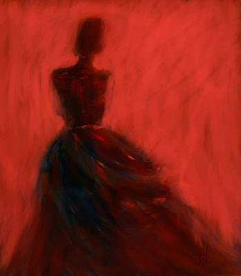 Painting - Evening Gown by Jim Vance