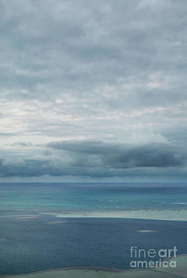 Evening Horizon Kaneohe Bay Art Print by Charmian Vistaunet