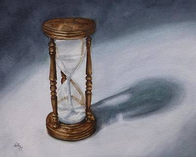 Painting - Evening Hourglass by Kelly Mills