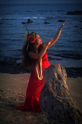 Photograph - Evening Hula by Lori Seaman