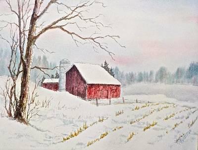 Painting - Evening Hush by Carolyn Rosenberger