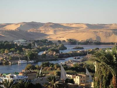 Photograph - Evening In Aswan by Richard Deurer