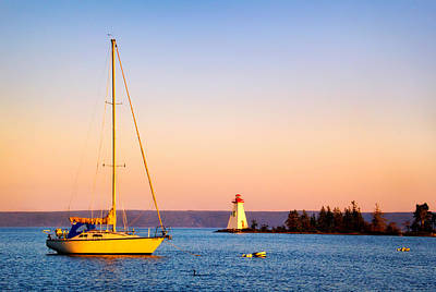 Photograph - Evening In Baddeck by Carolyn Derstine