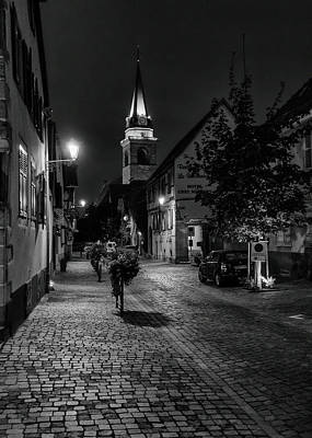 Photograph - Evening In Bergheim by Alan Toepfer