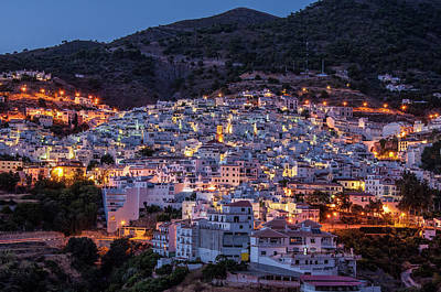 Evening In Competa Art Print