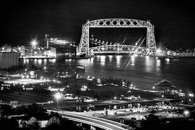 Photograph - Evening In Duluth by Bill Pevlor