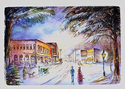 Painting - Evening In Dunnville by Patricia Schneider Mitchell
