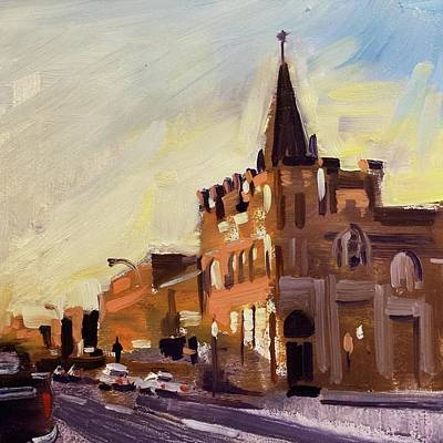 Evening In Fairfield Art Print by Spencer Meagher