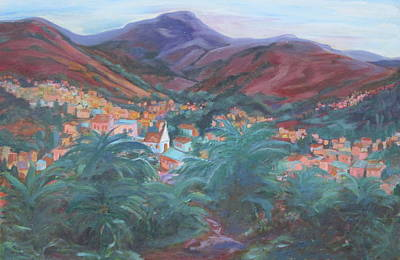 Painting - Evening In Guanajuato by Sally Fraser