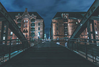 Photograph - Evening In Hamburg by Pixabay