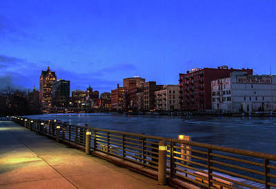 Photograph - Evening In Historic Third Ward by Joel Witmeyer