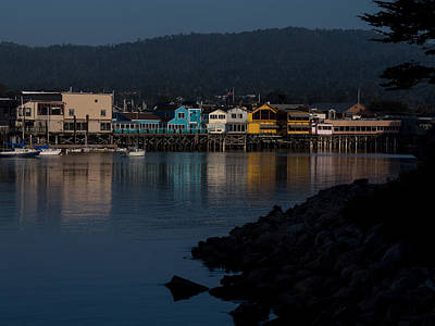 Photograph - Evening In Monterey by Derek Dean
