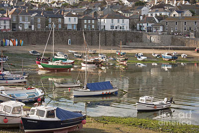 Photograph - Evening In Mousehole by Terri Waters