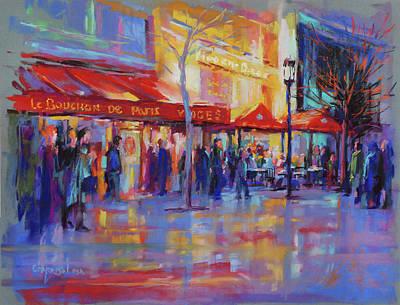 Painting - Paris Cafe by David Garrison