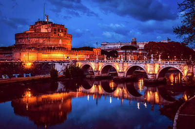 Photograph - Evening In Rome by Pixabay