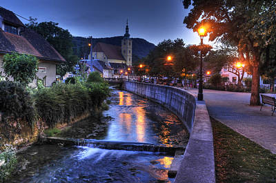 Evening In Samobor Art Print by Don Wolf