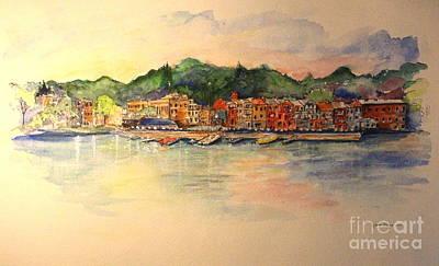 Painting - Evening In Skaneateles by Melanie Stanton