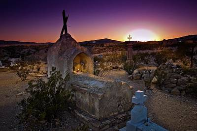 Photograph - Evening In Terlingua by Linda Unger