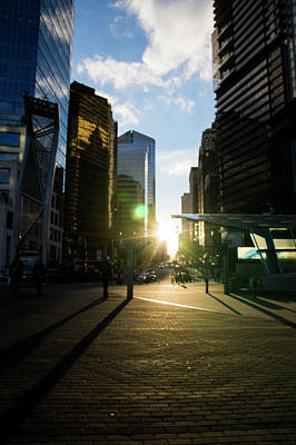 Photograph - Evening In The City by Ross G Strachan