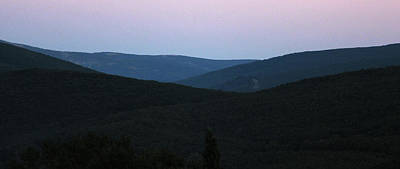 Photograph - Evening In The Mountains by John Stuart Webbstock