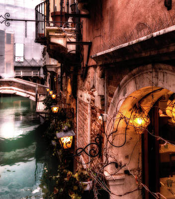 Photograph - Evening In Venice by Georgia Fowler
