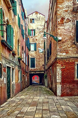 Photograph - Evening In Venice by Maria Coulson